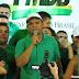 Helio reafirma que a luta continua na busca do voto em Guamaré