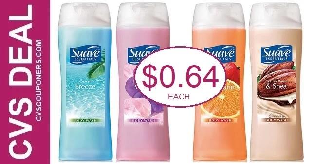 Cheap Suave Body Wash at CVS