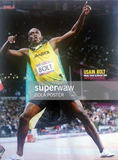 Poster Usain Bolt (Jamaika)