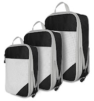 EVEK Compression Organizers Set Packing Cubes for Carry