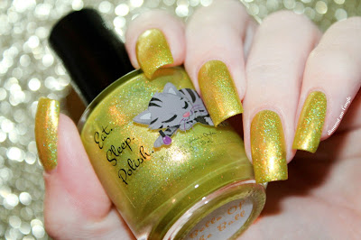 "Swatch of the nail polish ""Belle Of The Ball"" from Eat Sleep Polish"