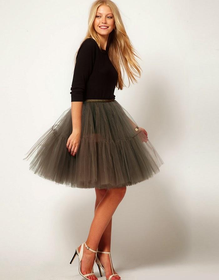 e3848e37d Mi Propuesta de Look Para Nochevieja: Falda Tul + Camiseta - SONIA ...