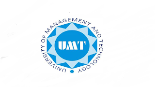 UMT Careers - UMR Jobs Opportunities - UMT Edu Jobs - UMT Jobs - UMT Apply Online - UMT Lahore Jobs - UMT Online - University Of Management And Technology Jobs - UMT Online Apply - recruitment@umt.edu.pk