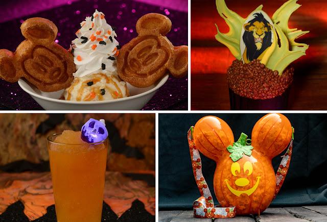 Magic Kingdom 2020 Halloween-themed food beverage treats Walt Disney World Resort