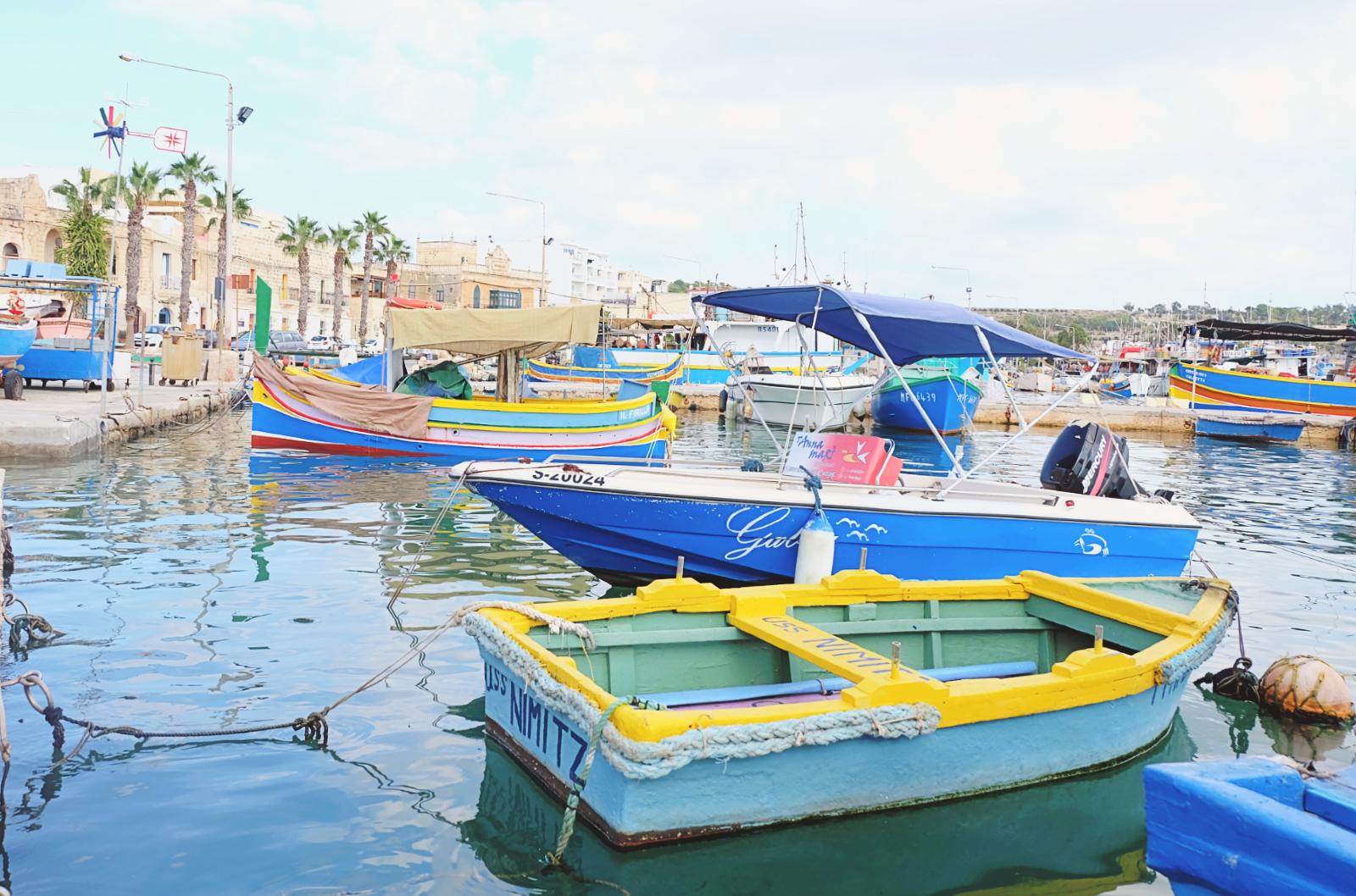 Marsaxlokk - najbardziej kolorowa wieś rybacka Malty