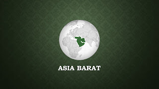 bahasa arab nama-nama negara asia barat