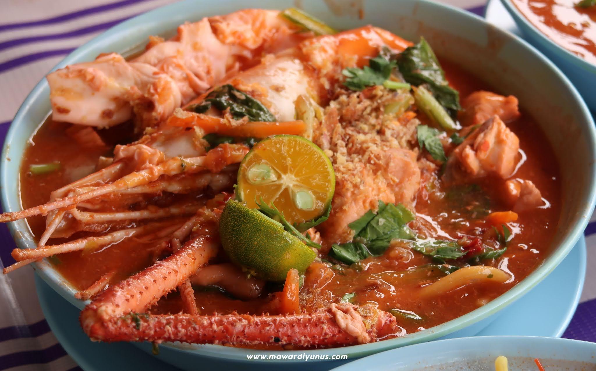 Makan Tengahari Mee Udang Galah Di Kuala Rompin Mawardi Yunus