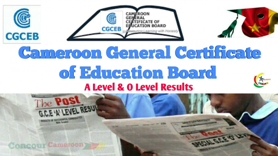 GCE Results 2019 Cameroon General Certificate Of Education