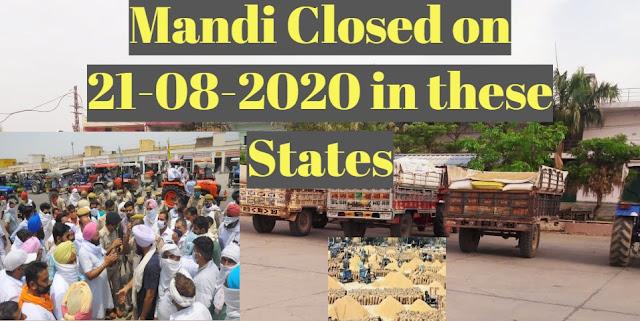 Mandi Closed