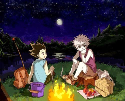 gon and killua, hunter x hunter,
