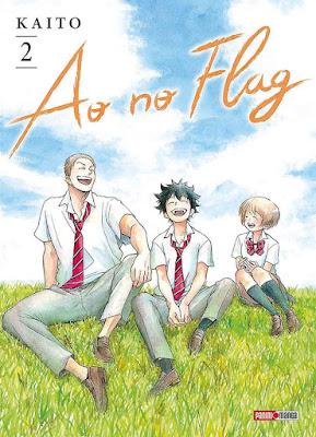 Portada del volumen 2 de Ao No Flag