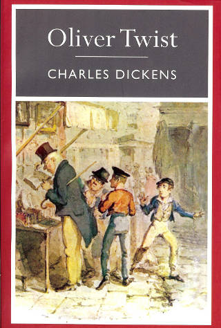 Cover of Oliver Twist eBook
