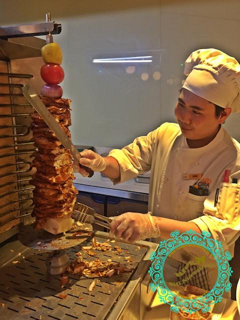 ramadhan 2017, buffet murah, buffet sedap, buffet ramadhan Ixora Hotel, buffet style, buffet sedap, perai, tempat maka best, menu berbuka puasa, juadah berbuka puasa, resepi masak lemak tempoyak, kambing bakar sedap, panggang, kambing golek istimewa, penang foods,