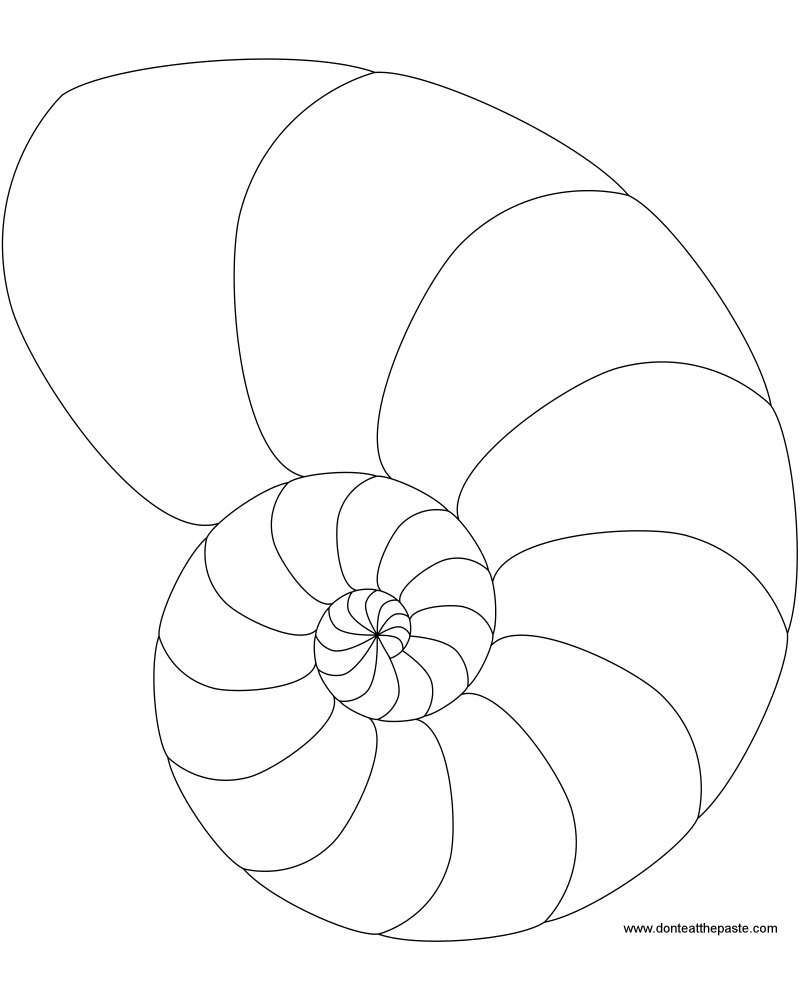 spiral coloring pages to print | Don't Eat the Paste: Spiral to Color