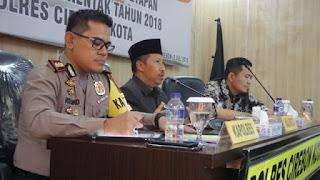 400 Personil Siap Mengamankan Perhitungan Suara Di Kantor KPU Kota Cirebon
