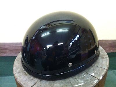 1692450054 - カスタムペイント工程  バッドボーンヘルメット シルバーリーフ スピニング