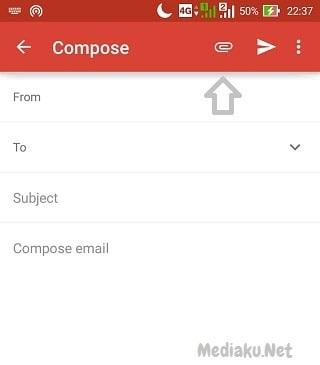 Kirim Lampiran (Attachment) Di Gmail