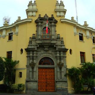 Palácio Municipal de Miraflores, em Lima