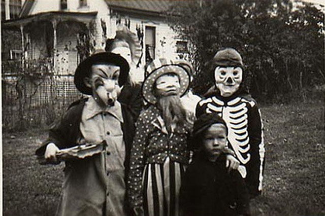 Old creepy vintage halloween pictures images HD desktop backgrounds