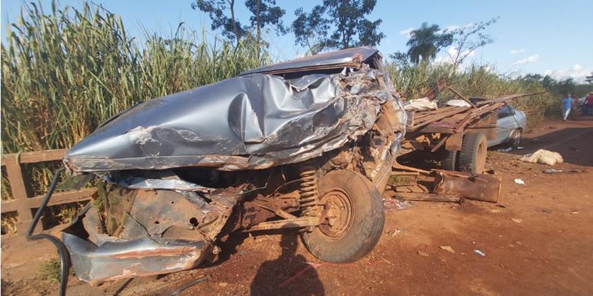 Morre cajobiense após acidente entre ônibus e caminhão em Barretos