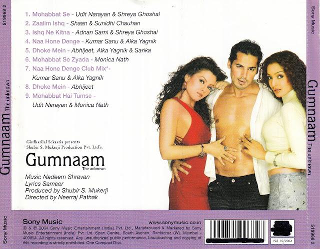 Gumnaam 2004 Movie Songs Free Download - autoslinoa
