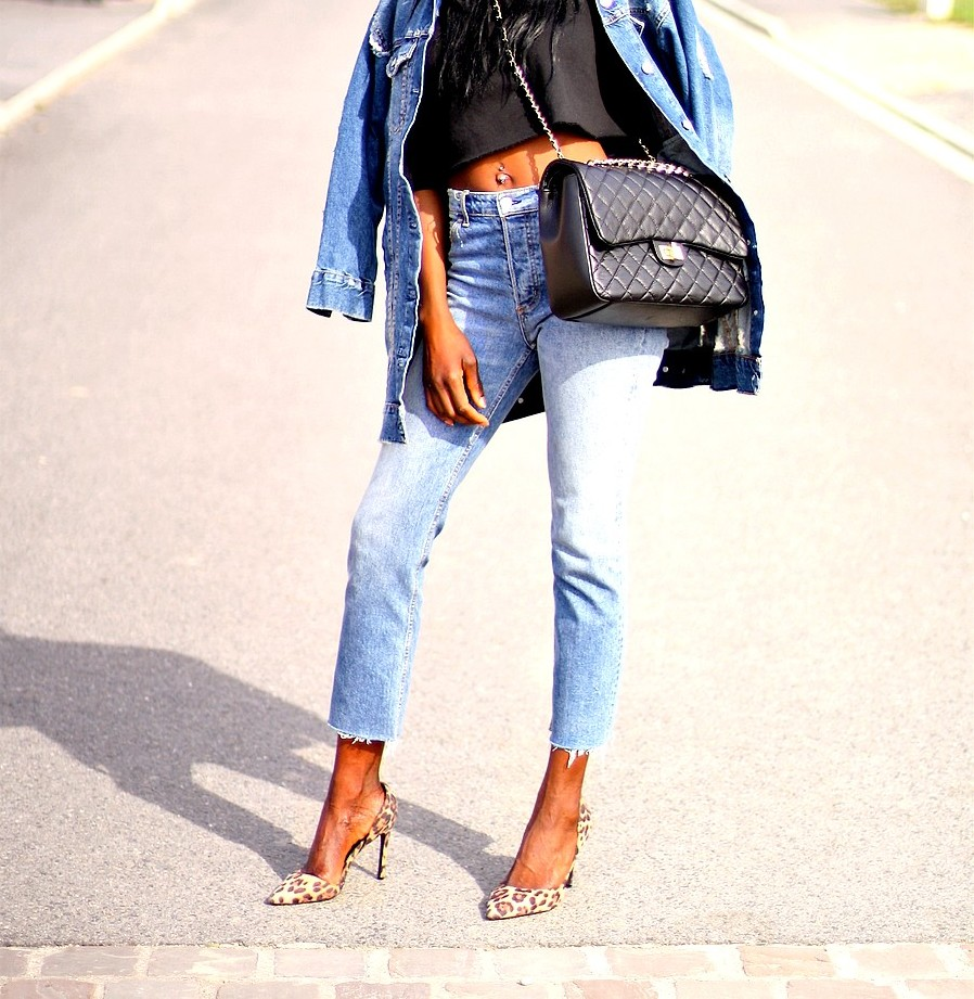 blog-mode-jeans-taille-haute-sac-matelasse