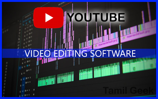 VIDEO EDITING SOFTWARE  in Tamil