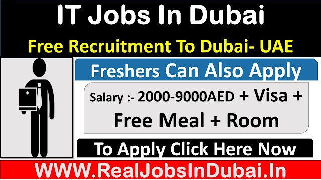 IT Jobs In Dubai, Abu Dhabi & Sharjah UAE