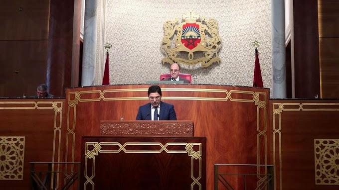 مجلس المستشارين المغربي يسحب بيان ينتقد إسبانيا لإستقبالها الرئيس إبراهيم غالي للعلاج قُبيل جلسة للمُساءلة لبوريطة.