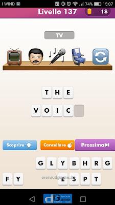 Emoji Quiz soluzione livello 137