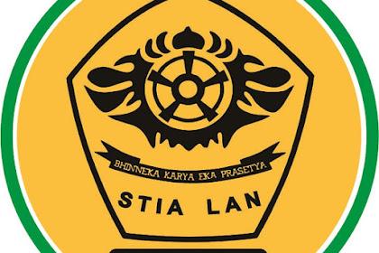 Pendaftaran Mahasiswa Baru (STIA-LAN Bandung-Jawa Barat) 2021-2022