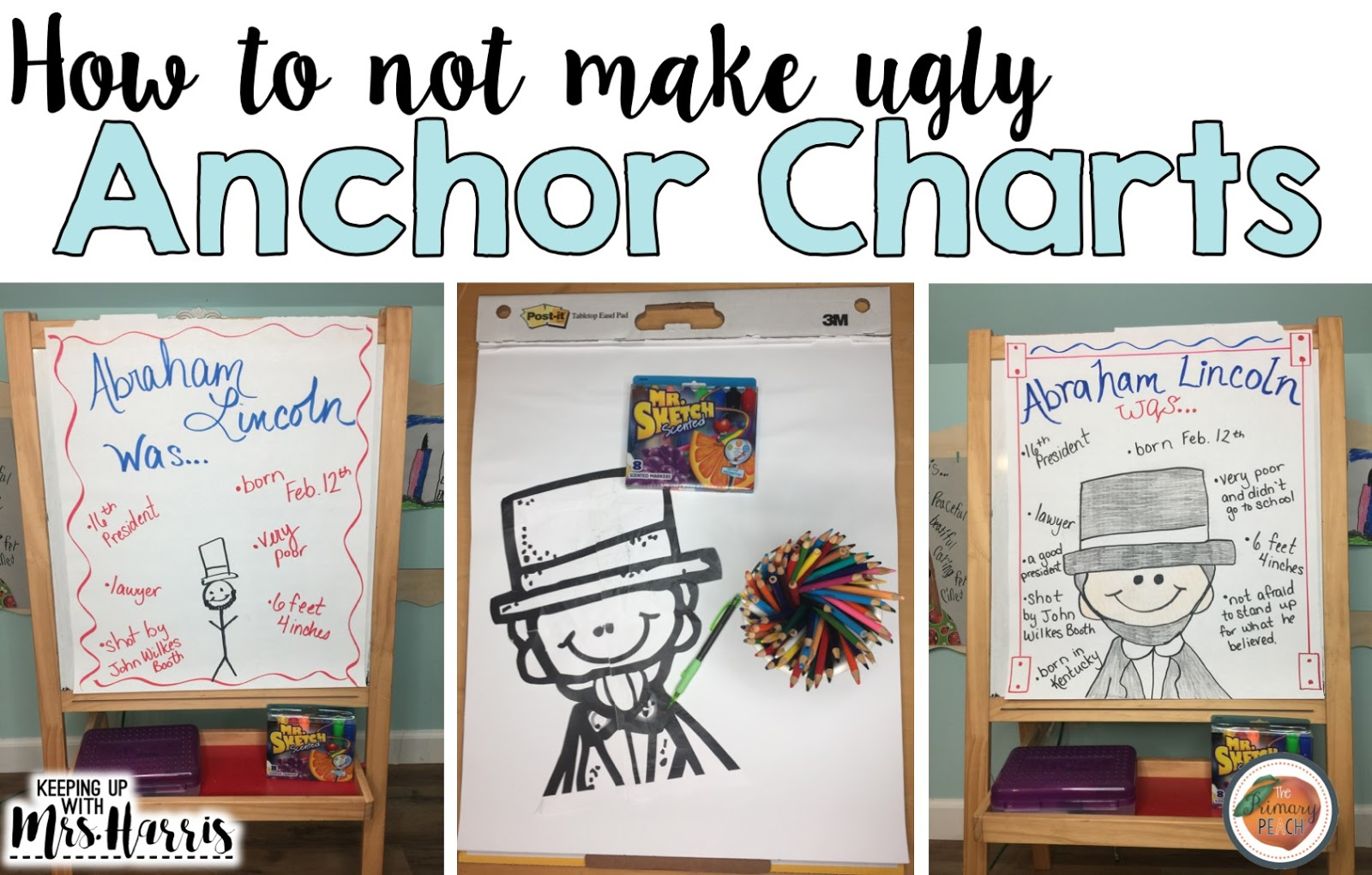 The Primary Peach How To Not Make Ugly Anchor Charts