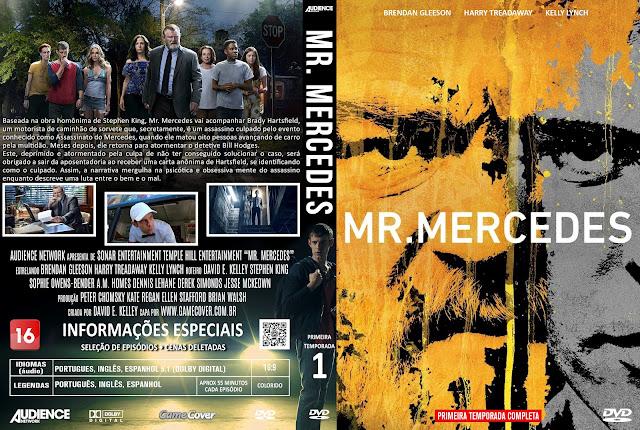 Capa DVD Mr Mercedes Primeira Temporada [Exclusiva]