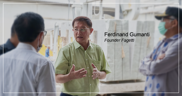 Ferdinand Gumanti pendiri PT Fajar Gelora Inti (Fagetti)