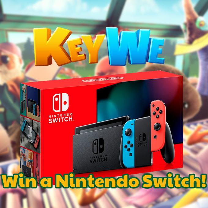 Sorteio Console Nintendo Switch Red & Blue Edition