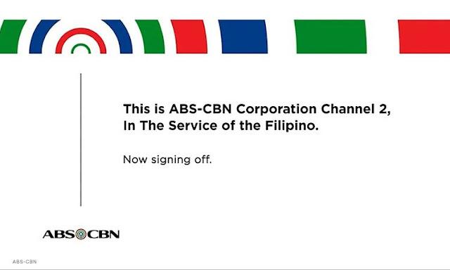 Philippines largest TV network ABS-CBN shutdown