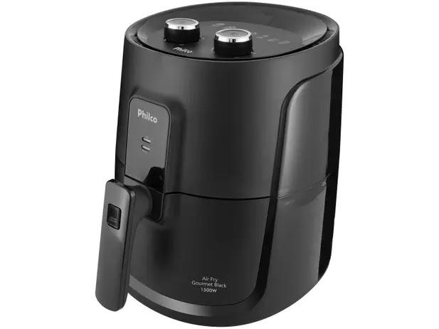 Fritadeira Elétrica sem Óleo/Air Fryer Philco - Gourmet Black PFR15P Preto 4L