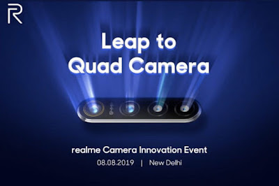 The world's first 64-megapixel camera phone will come out on August 8
