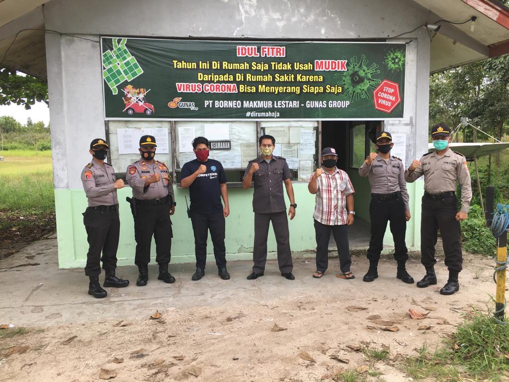 Kapolsek Bukit Batu dan Serdik SIP Angkatan 49 Rangkul Tokoh Masyarakat Wujudkan Pilkada Damai