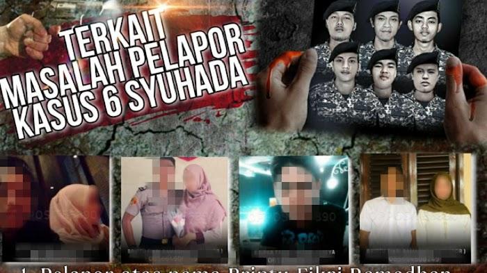 Beredar Foto Petugas Diduga Terlibat Kasus Tembak Mati 6 Anggota FP1