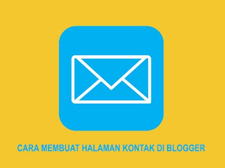 Membuat Halaman Kontak di Halama Statis Blogger Cara Membuat Halaman Kontak di Blogger