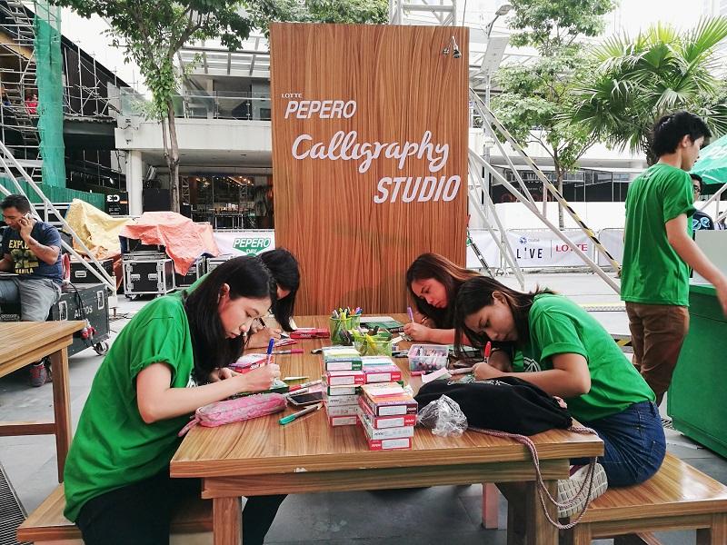 Celebrating #PeperoDay at Bonifacio Global City