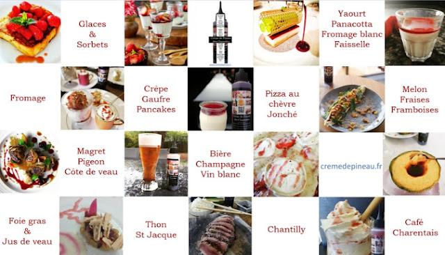 Recette à la crème de Pineau des Charentes