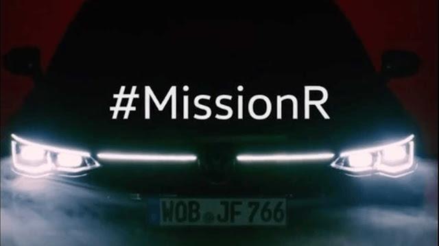 Novo VW Golf R Mk8 será revelado dia 4 de novembro