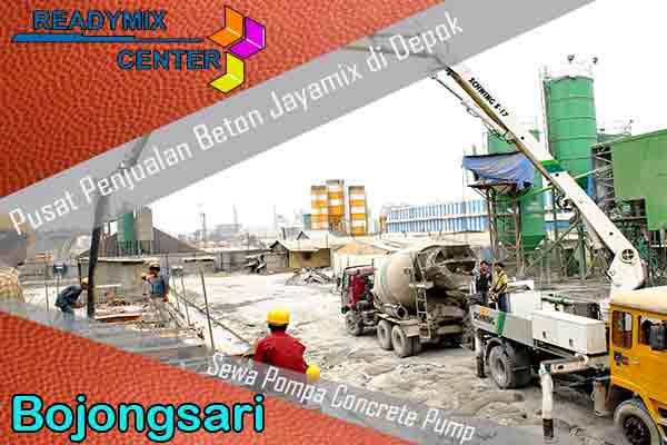 Harga Beton Jayamix Bojongsari Murah Per Kubik Terbaru 2021