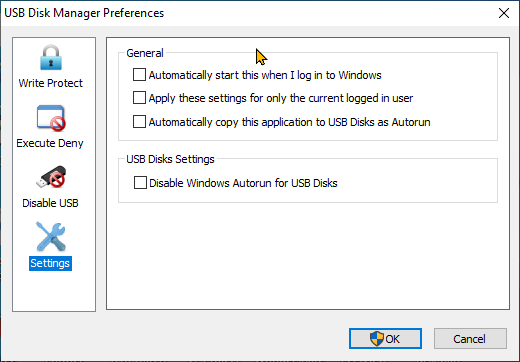 كيف تمنع تسرب الفيروسات والبرامج الضارة من الفلاشة usb عبر برنامج Usb Disk Manager