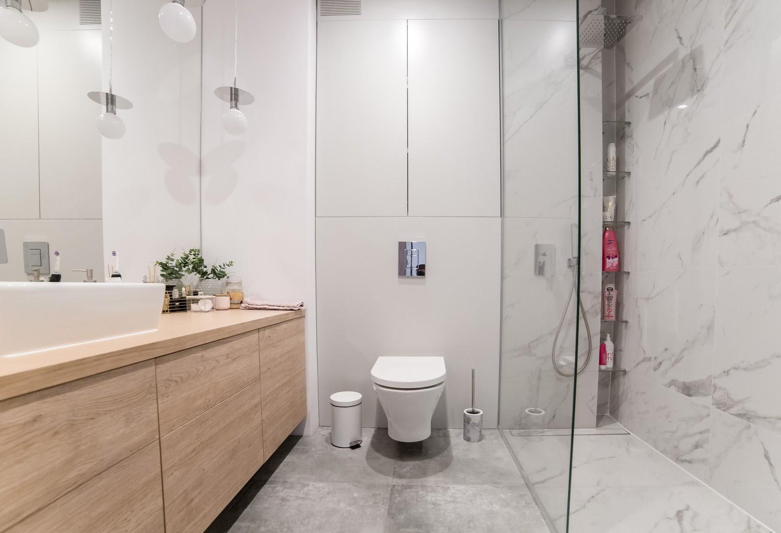 Projekt łazienki Efekt Końcowy Bathroom