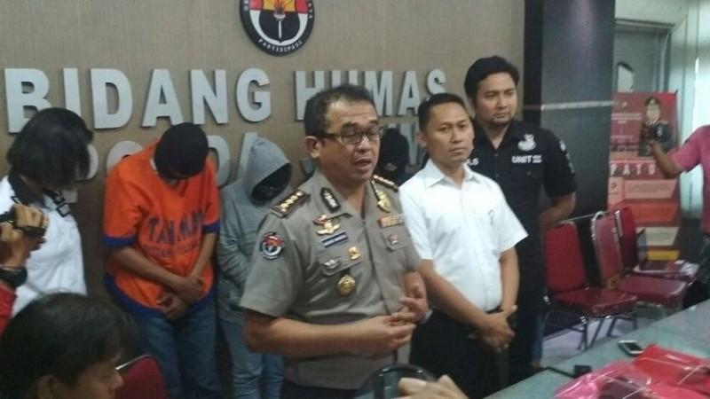 Polisi rilis kasus swinger party di Malang