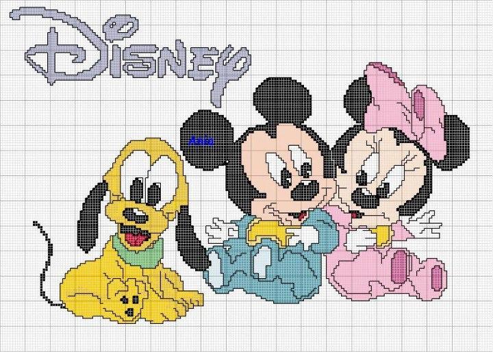 Croci E Punti Disney Baby
