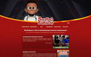 Suttyó és Barátai weboldal